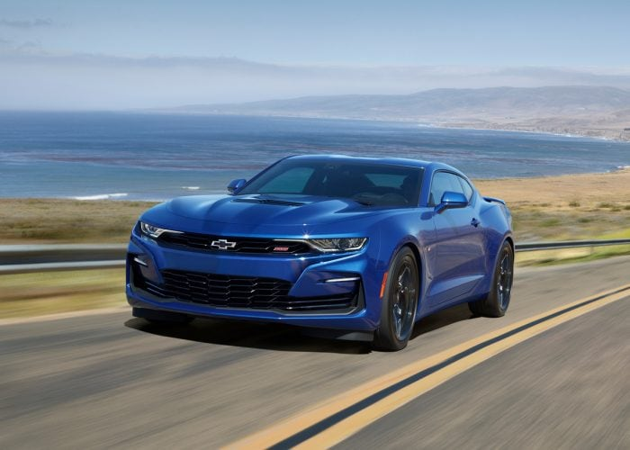 2021 chevrolet camaro first review  kelley blue book