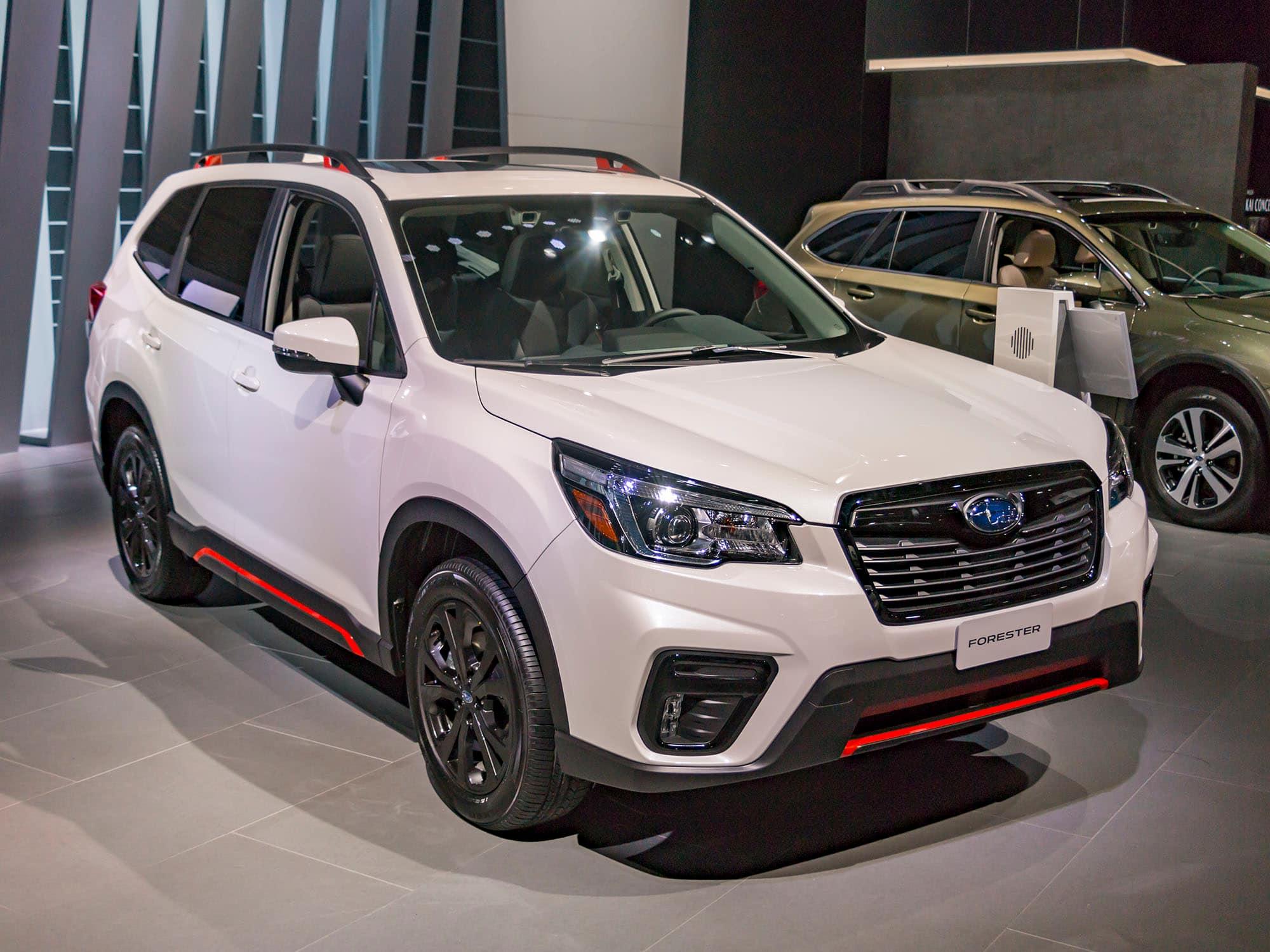 2019 Subaru Forester Suv Debuts Kelley Blue Book