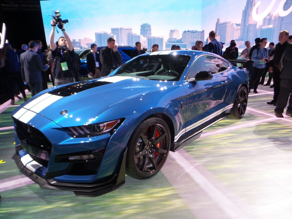 Supercars Gallery: 2020 Ford Mustang Gt Blue
