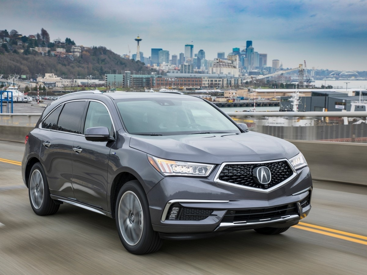 2020 acura mdx vs  2020 volvo xc90 comparison