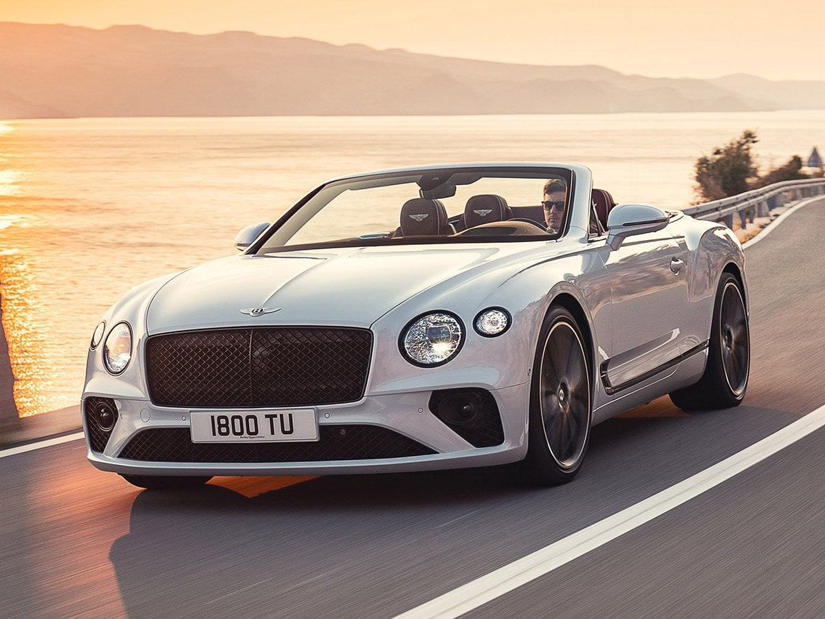 2020 Bentley Continental Gt Convertible First Review Kelley Blue Book