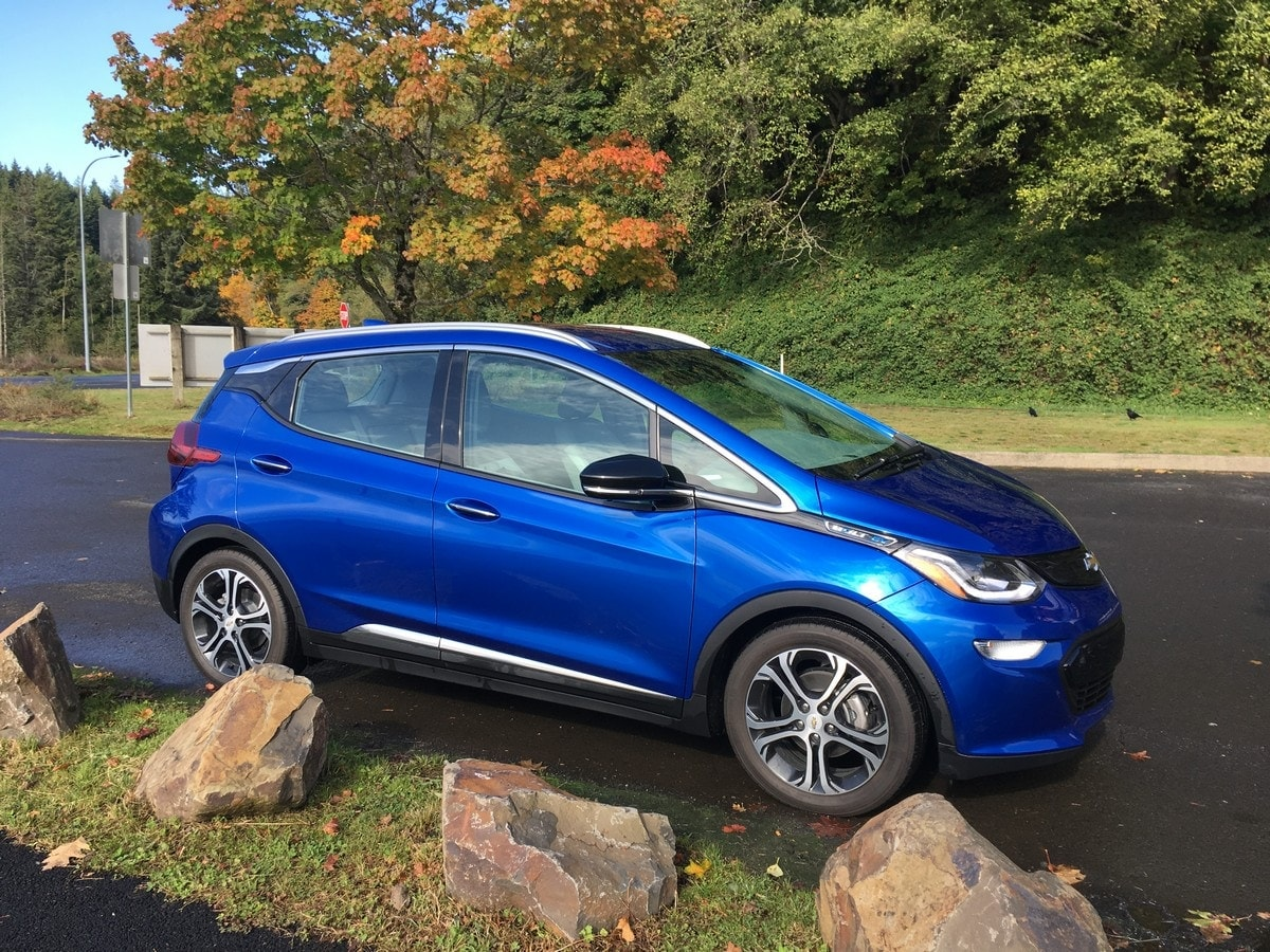 2020 Chevrolet Bolt First Review Kelley Blue Book