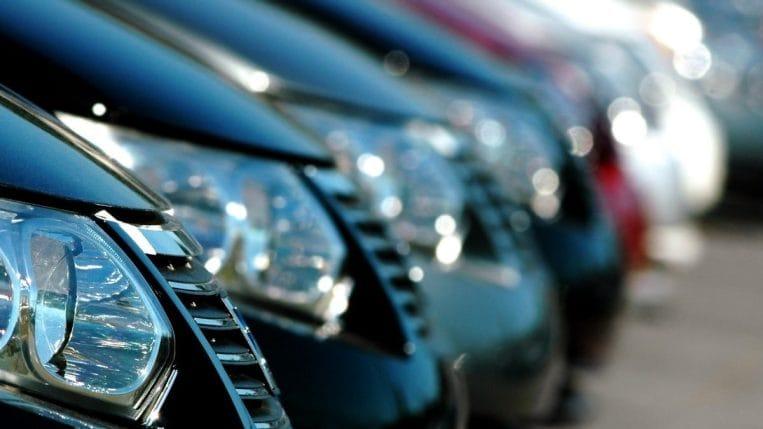 new cars on dealer lot