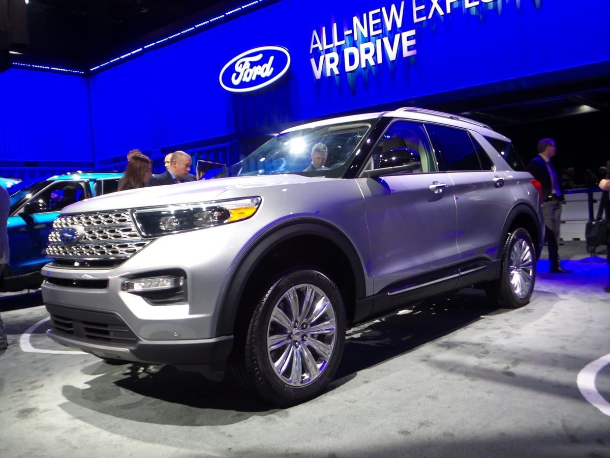 2020 Ford Explorer First Look Latest Car News Kelley