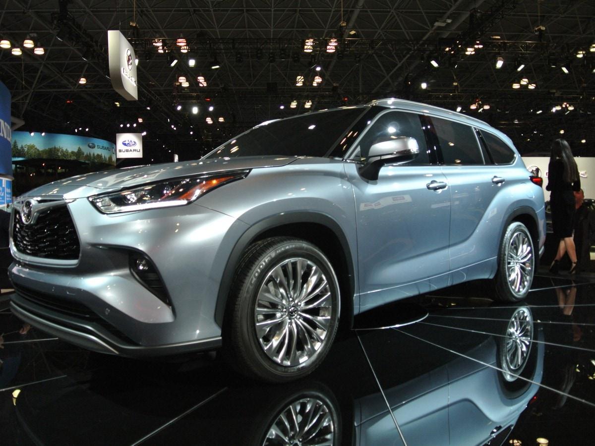 2020 Toyota Highlander First Look Latest Car News Kelley