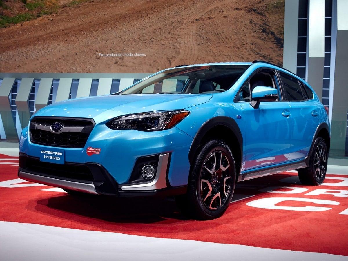 2019 Subaru Crosstrek Hybrid First Review Kelley Blue Book