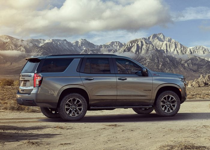 2021 chevrolet tahoe and suburban first look  kelley blue
