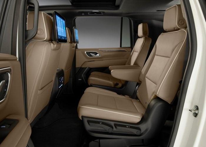 chevrolet suburban interior trunk - chevrolet cars