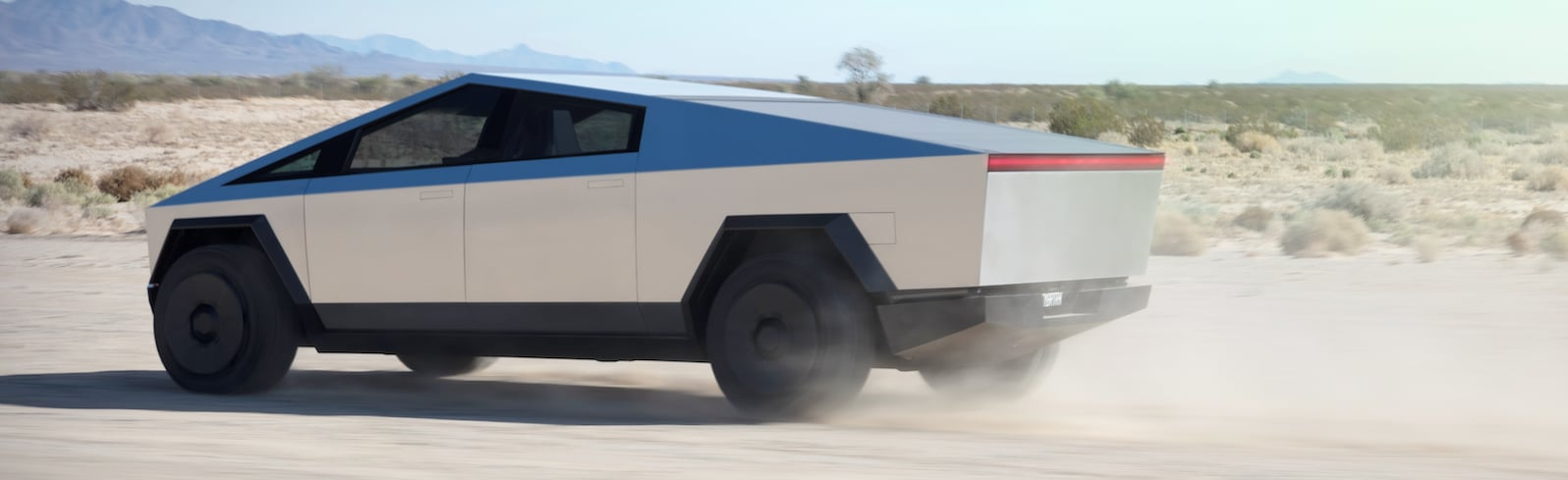 Tesla Cybertruck Rear and Bed,