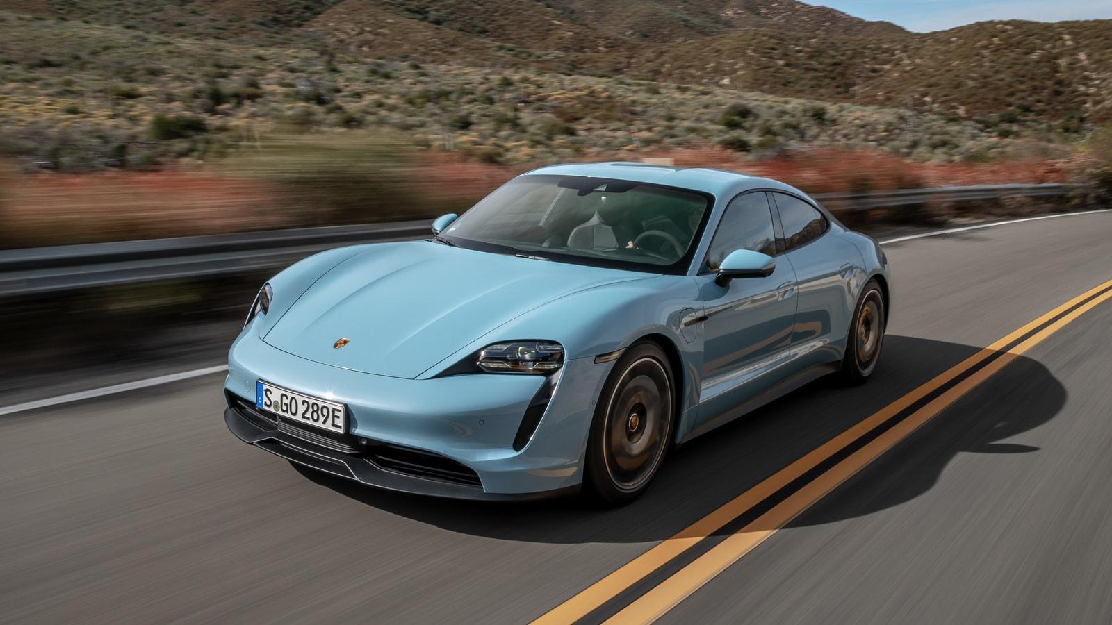 2020 Porsche Taycan 4s First Review Kelley Blue Book