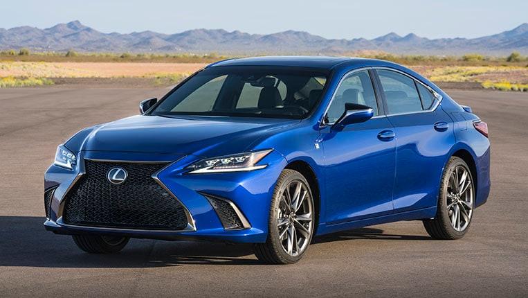Best Entry Level Luxury Car Resale Value 2020 Lexus Es Kelley Blue Book