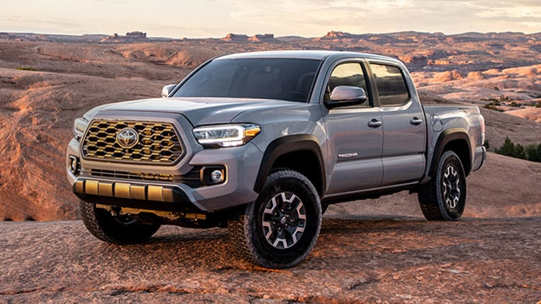 2020 Toyota Tacoma Lowest Cost To Own Among Midsize Pickup Trucks Kelley Blue Book