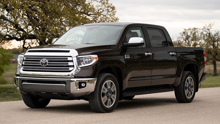 Best Full Size Pickup Truck Resale Value 2020 Toyota Tundra