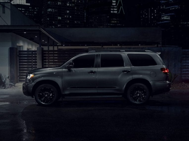 2021 toyota sequoia nightshade first look