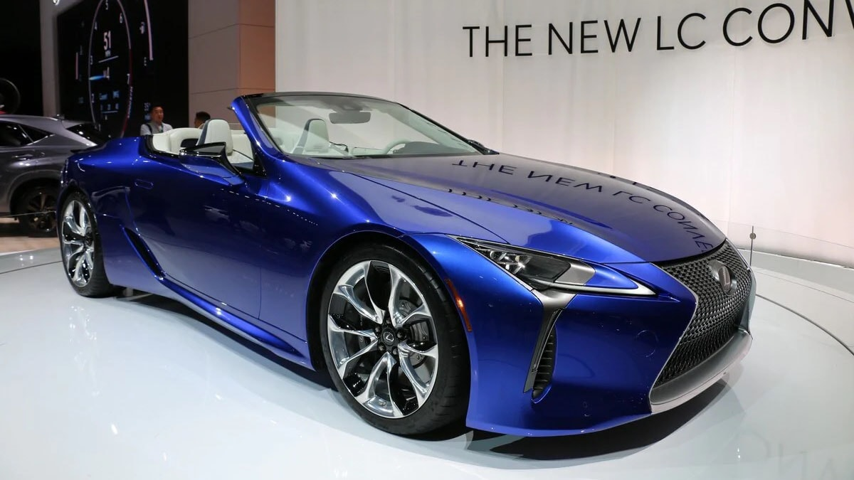 2021 Lexus LC 500 Convertible First Look | Kelley Blue Book