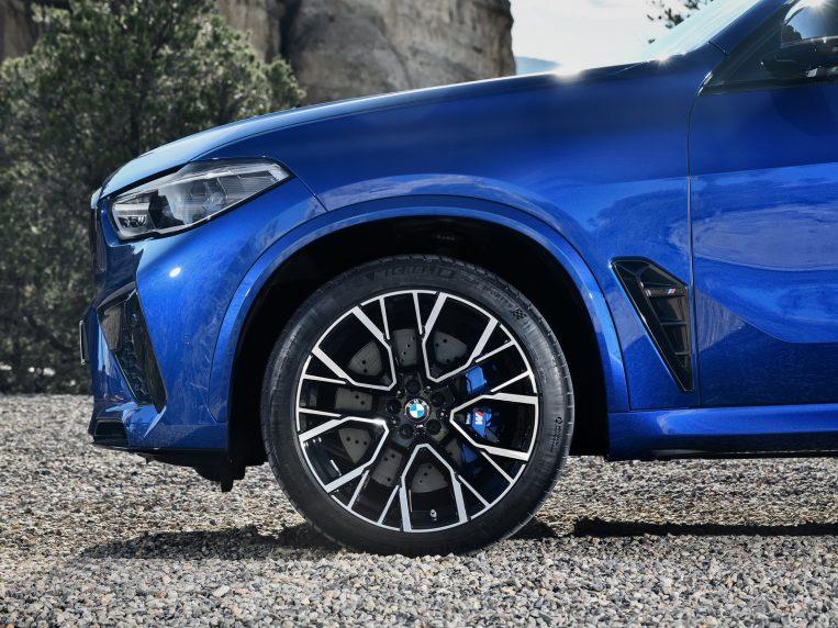 Bmw X5 M 2020 Blue