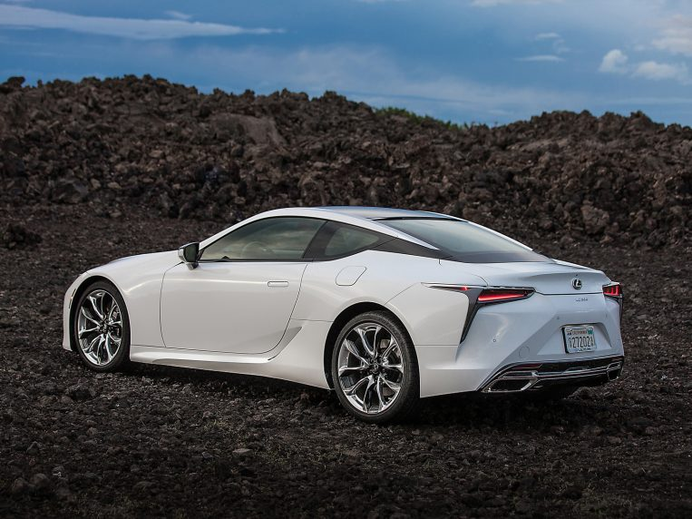 2021 lexus lc first review  kelley blue book