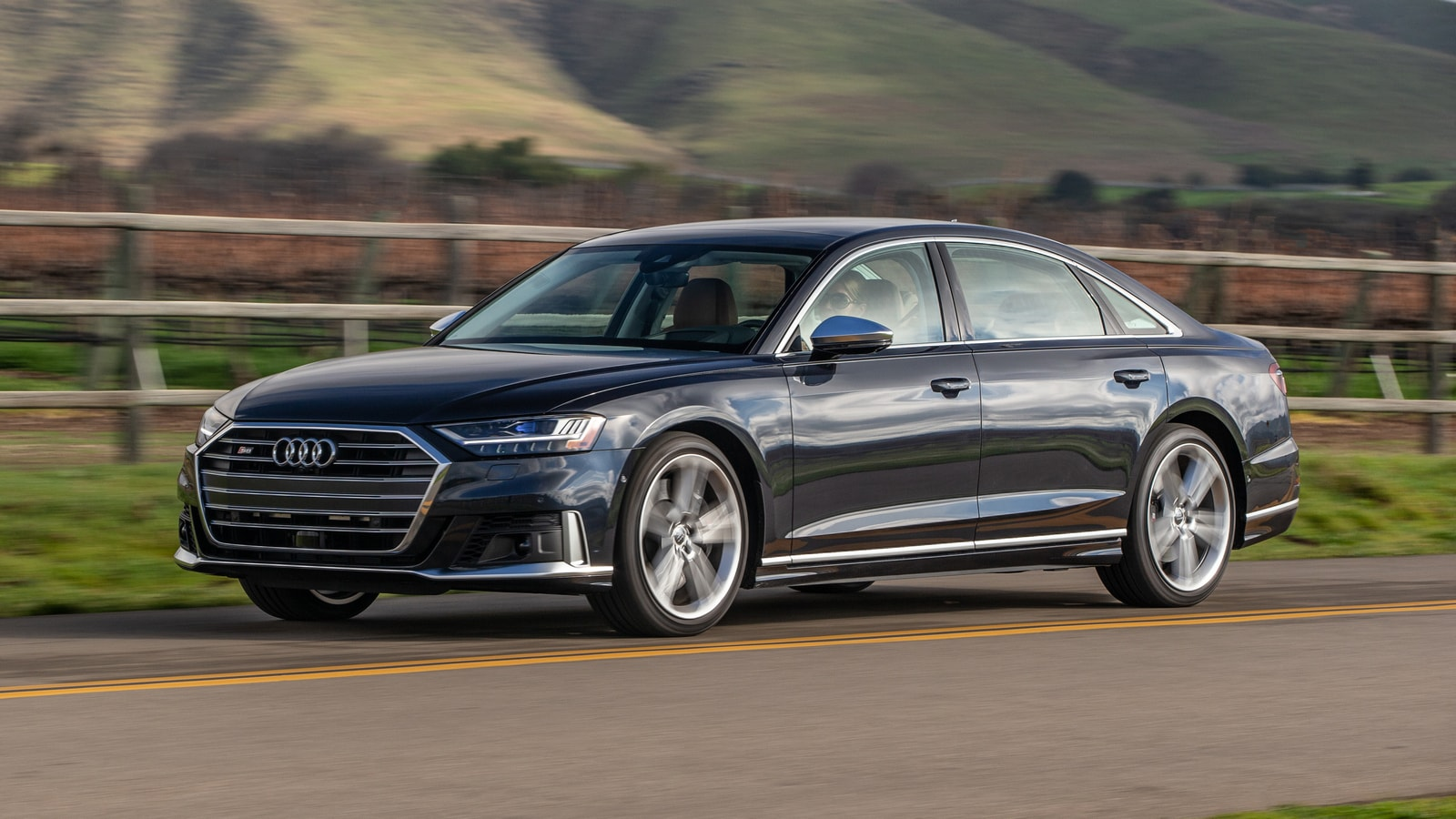 2021 audi a8 first review  kelley blue book
