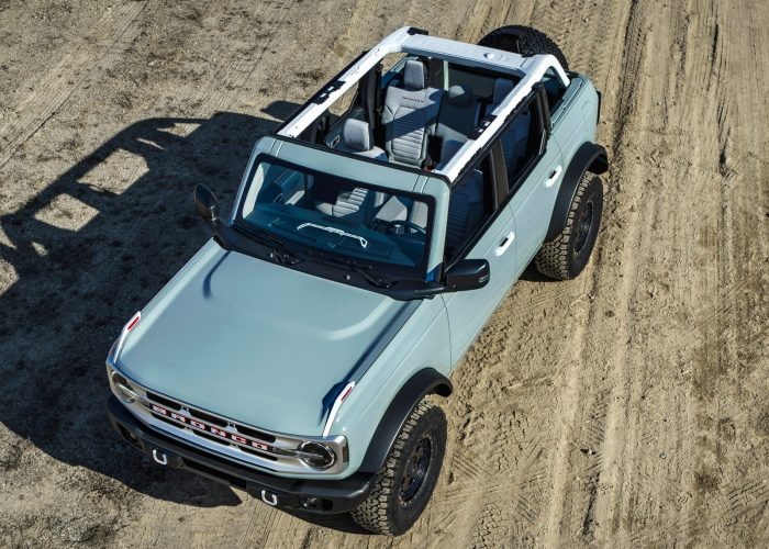 2021 Ford Bronco First Look Kelley Blue Book