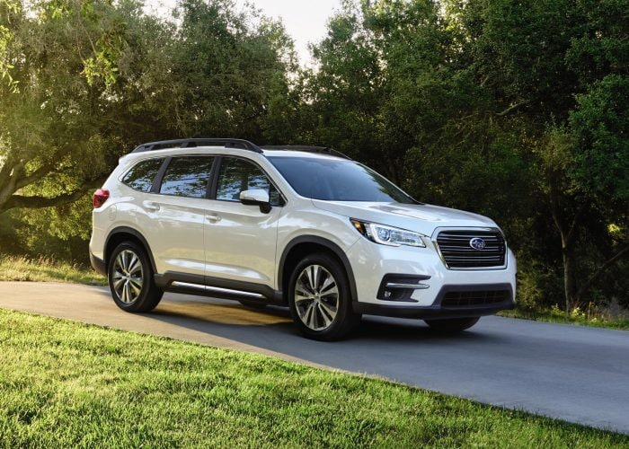 2021 subaru ascent review  kelley blue book