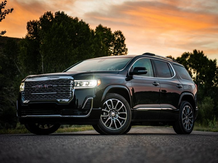 2021 Gmc Acadia Review Kelley Blue Book