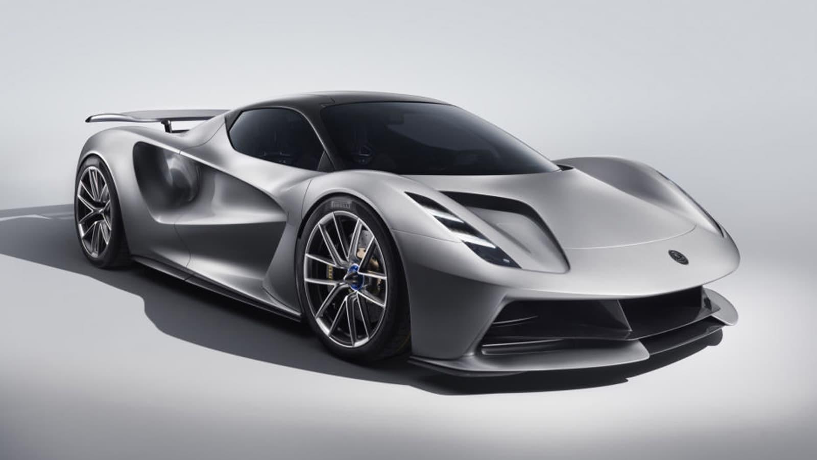 2021 Lotus Evija in grey