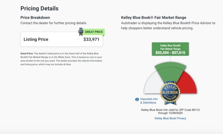Autotrader Listings Vs Carfax Listings Kelley Blue Book