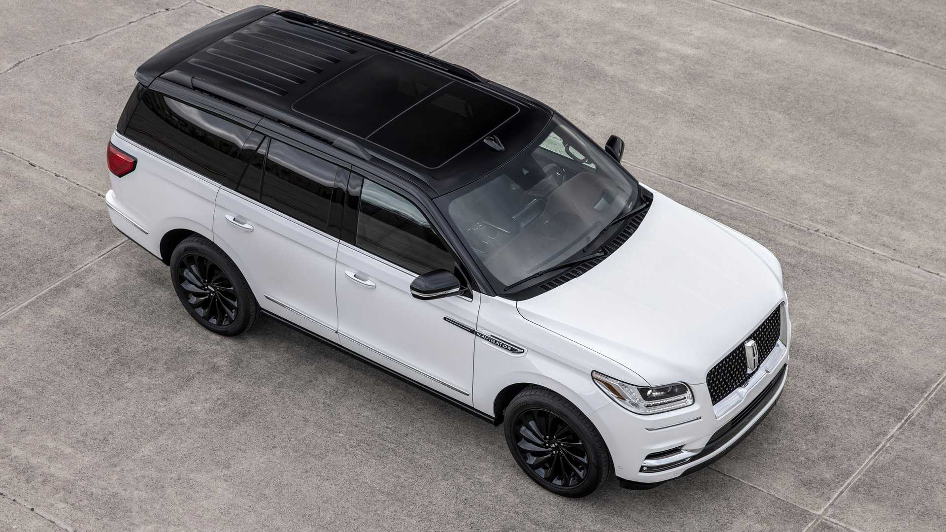 2021 Lincoln Navigator Offers Two-Tone Special Edition ...