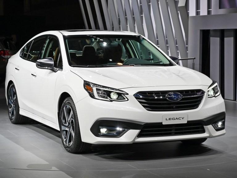 2020 Subaru Legacy First Look Kelley Blue Book