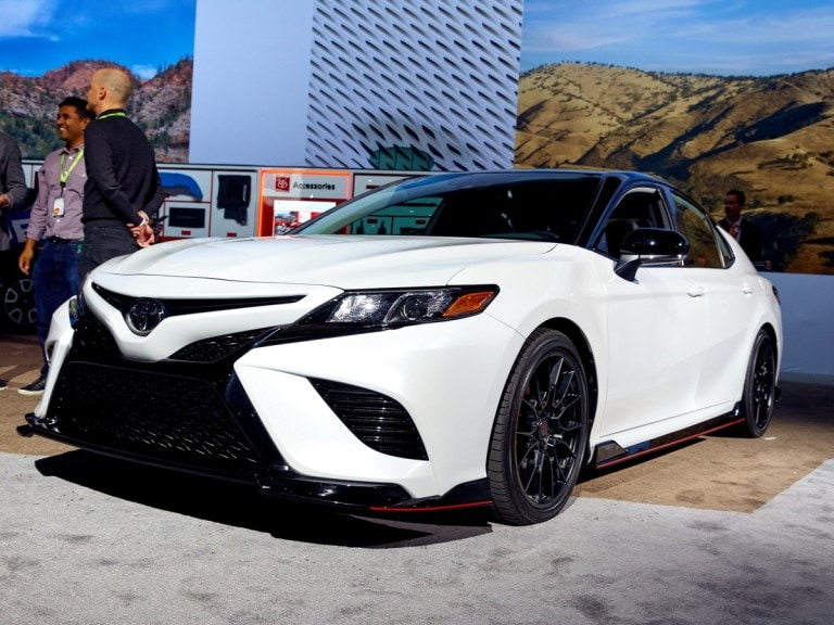 2020 Toyota Camry Trd First Look Kelley Blue Book
