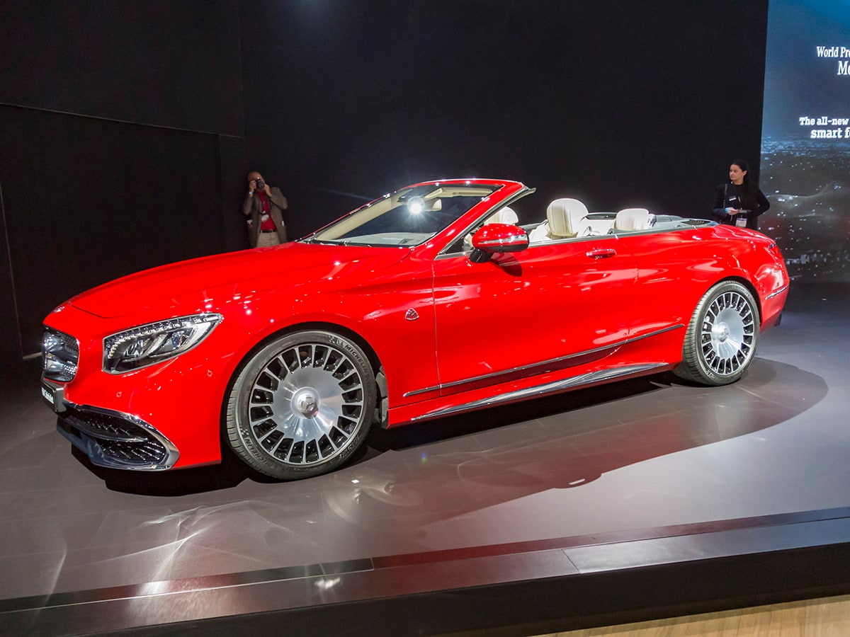 Limited Edition Mercedes-Maybach S650 Cabriolet Unveiled ...