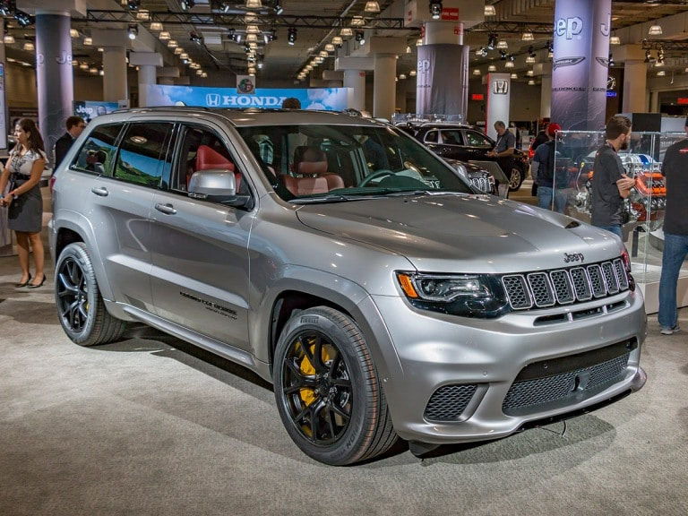 2018 Jeep Grand Cherokee Trackhawk Suv With A Hellcat Heart