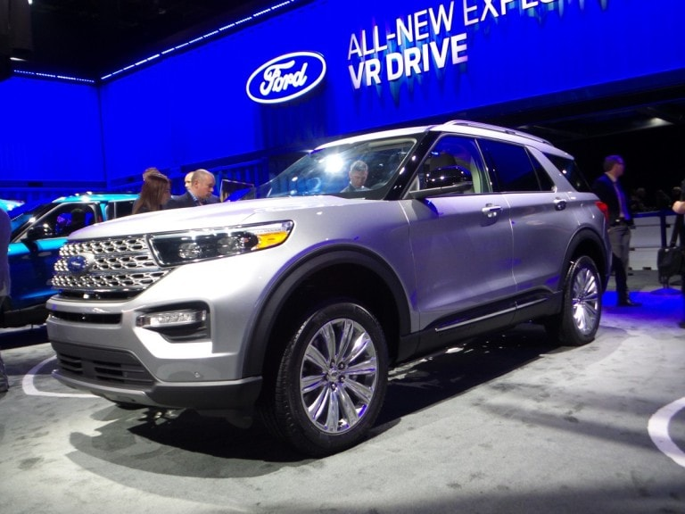 2020 Ford Explorer First Look Kelley Blue Book
