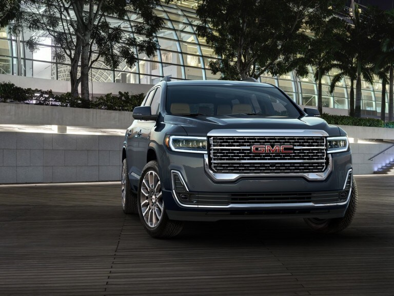 2020 Gmc Acadia First Look Kelley Blue Book