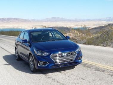 Hyundai Accent Reviews >> 2018 Hyundai Accent First Review Latest Car News Kelley