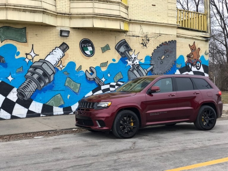 2019 Grand Cherokee Trackhawk Quick Take Kelley Blue Book