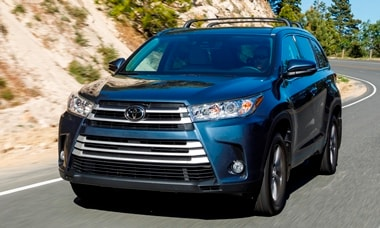 2018 Toyota Highlander Vs Nissan