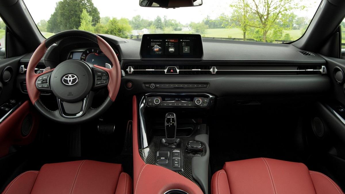 2020 Toyota GR Supra Interior,