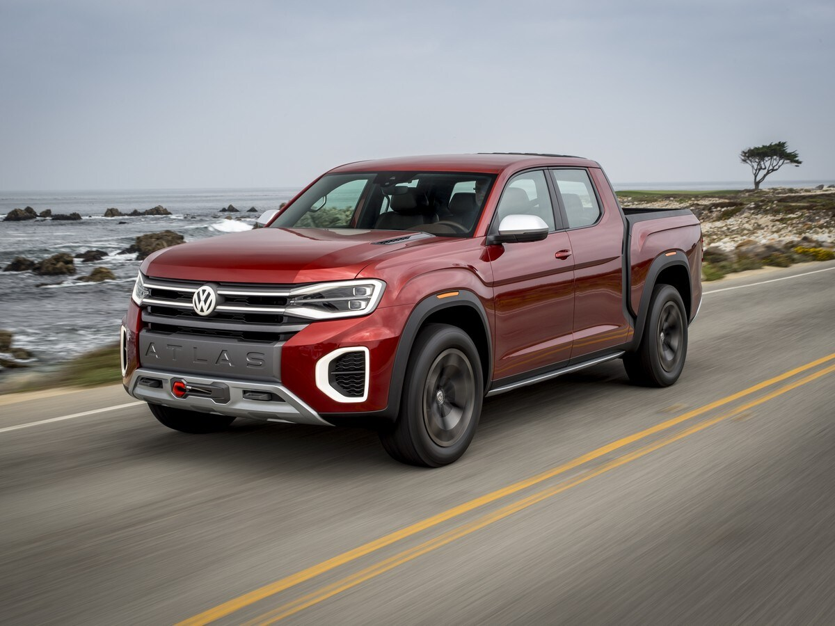 Volkswagen Atlas Tanoak And Atlas Cross Sport Concept Review
